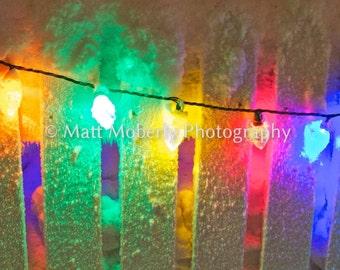 Fine Art Photography Print Christmas Lights