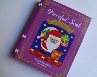 Japan Mind Wave Kawaii Bookstyle CHRISTMAS stickers flake/Funny Santa