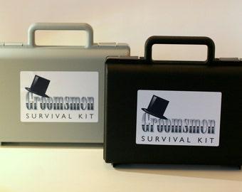 DIY Groomsmen Wedding Day Emergency Survival Kit Gift