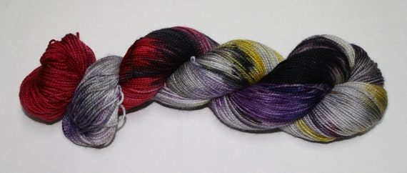 Ready to Ship - Let's Have a Mystery Hand Dyed Sock Yarn - Twist Sock
