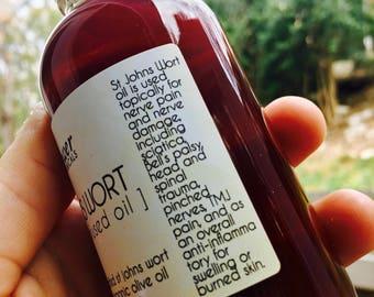 St. John's Wort Infused Herbal Body Oil