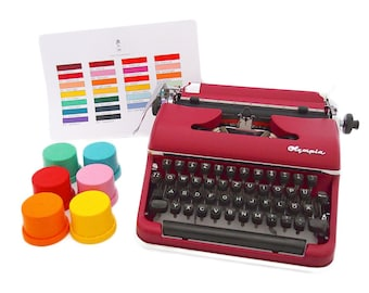 Customize your typewriter!* (note: This is NOT a typewriter, but an additional listing to customize the typewriter you bought with us!)