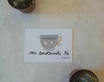 Galeffi-Cup of tea | Postcard