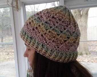 Crochet Spiral Divine Hat / Beanie