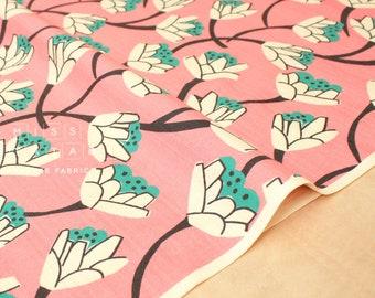 Japanese Fabric Lotus Flowers - pink - 50cm