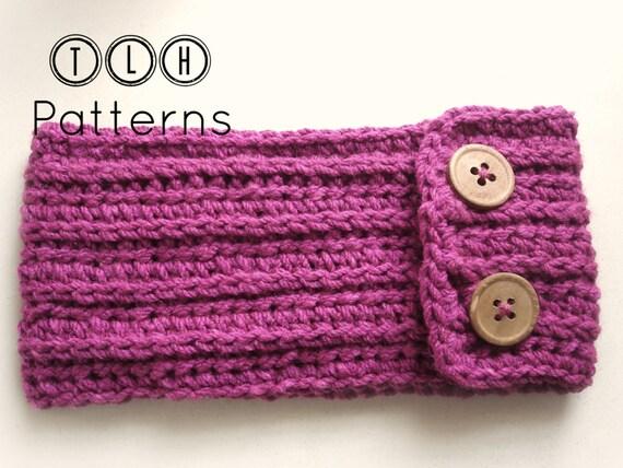 Crochet Ear Warmer Pattern Crochet Headband Crochet Head Wrap