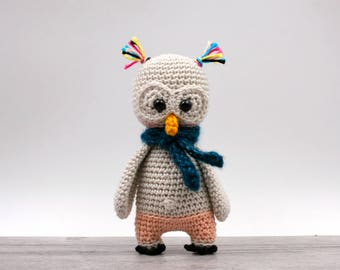 Crochet pattern: Eda the mini owl