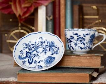 Blue Danube Tea Cup & Saucer
