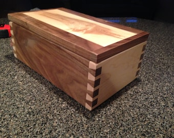 Beautiful dovetail box!