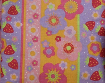 Strawberry Shortcake    100% cotton fabric by Cleveland Inc