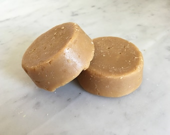 Scotch Ale Beer Shave Soap Puck using Kettlehouse Coldsmoke Scotch Ale