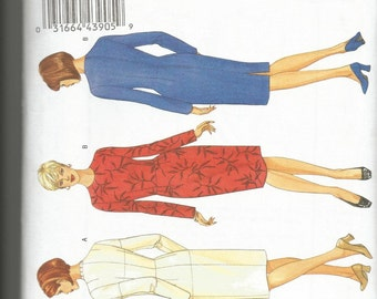 Butterick 5627 new and uncut size 6 womans fitting pattern