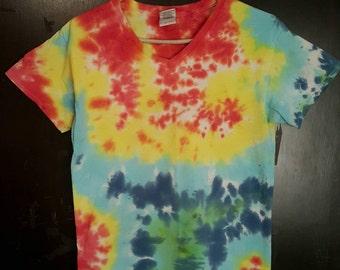 Vibrant Earthy Tye Dye S