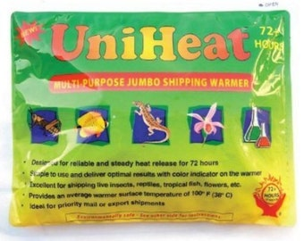 Shipping Heat Pack 72+ Hours - UniHeat