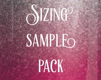 Sizing Sample Pack