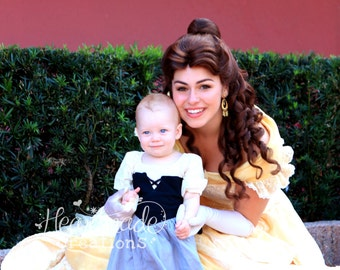 Briar Rose Dress - Aurora - Sleeping Beauty - Everyday Princess Dress - Character Inspired Dress - Sizes 6/12 months to 8