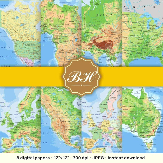 Map digital paper pack world maps backgrounds maps patterns map map digital paper pack world maps backgrounds maps patterns map backgrounds nautical maps instant download from bhdigitalbox on etsy studio gumiabroncs Gallery
