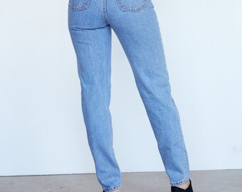 Levi's High Waisted Light Wash Jeans SZ 25