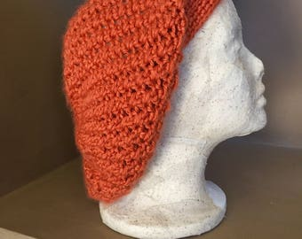 Slouchy Beanie / Slouchy Hat / Crocheted Slouchy Hat / Slouchy Beanie Women / Slouch Beanie / Beanie For Women / Fashion Gift / Gift for Her
