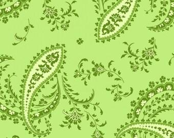 Greenery - Green Paisley - Maywood Studios
