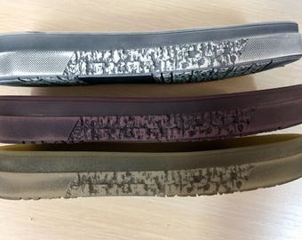 Shoe soles.Rubber TR flexible, shoes from skin, felt and knitted, size 36(5),37(6),38(6,5), 39(7,5), 40(8), 41(9)