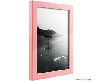 Pink wood frame Etsy