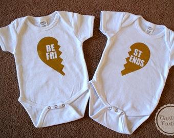 Best Friends Shirt Set