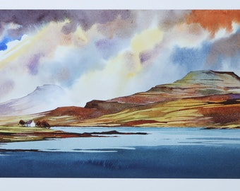 Autumn paints the Tables - Loch Dunvegan - Isle of Skye