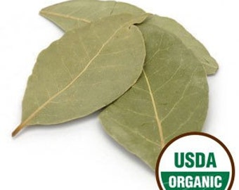 Bay Leaves Whole Organic 1 oz
