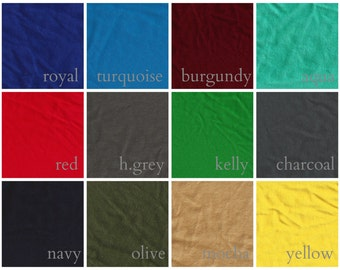 Cotton Jersey Swatches for Garments
