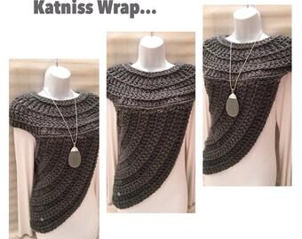 Katniss Inspired Wrap Top