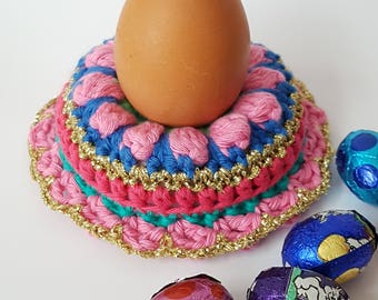 Egg Cup -HAAKPATROON-