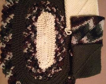 Crochet hot pads set