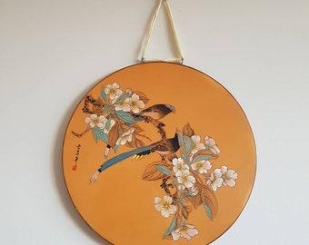 Oriental wall plate