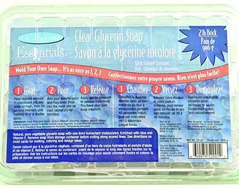 Clear Glycerin Soap Base, LOP52001, 2-Pound Life of the Party