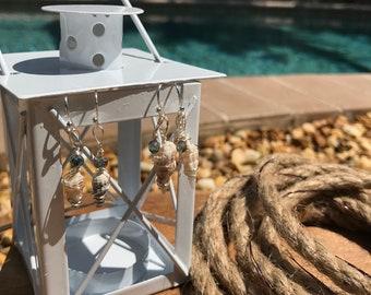 at sea studio delicate shell earrings