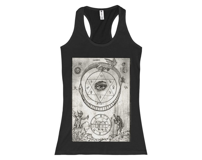 Serpents Slim Fit Racerback Tank