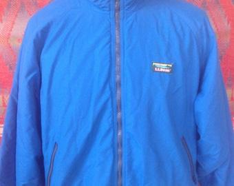 Vintage LL Bean Warm up jacket USA