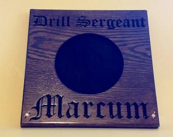 Drill Sergeant Hat Press