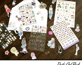 Mystery Sticker Pack - Free Shipping