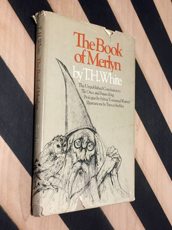 The Book of Merlyn by T.H. White (1977) hardcover book