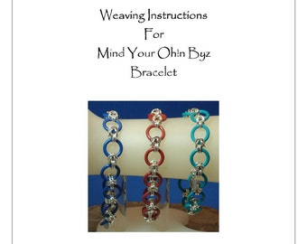 PDF Instructions For Mind Your Ohn Byz Chainmaille Bracelet