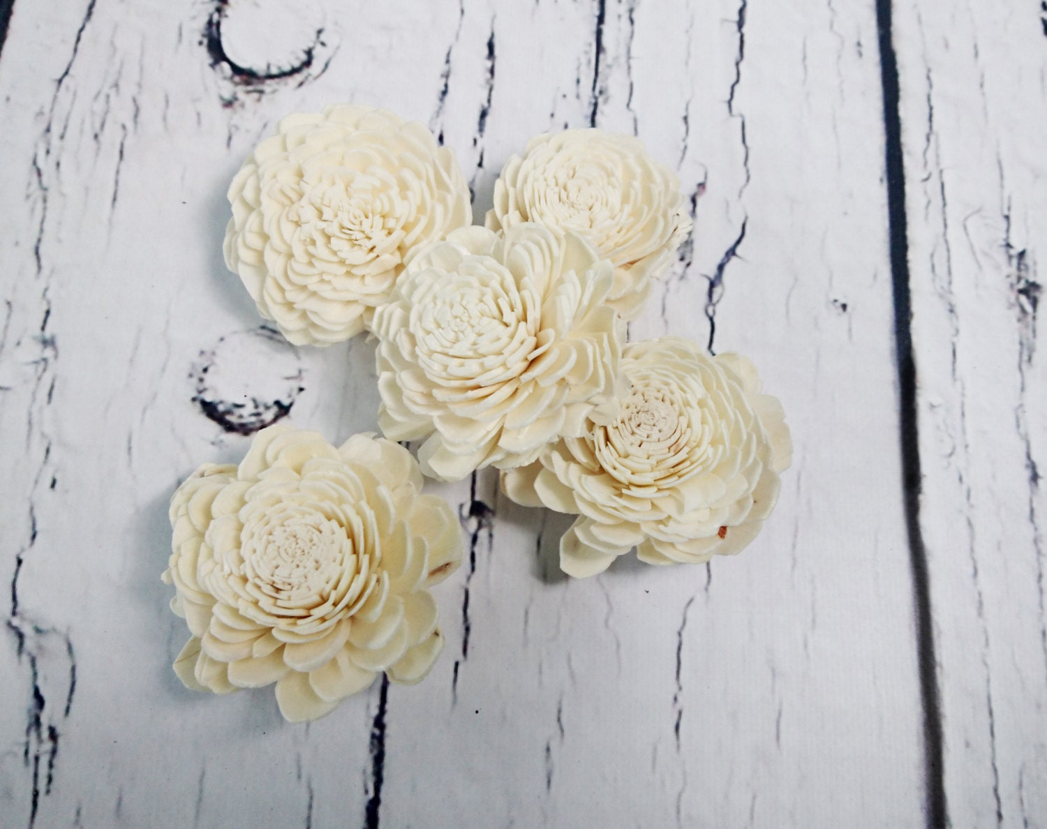 Sola Flowers Wedding decor white ivory diy bouquet floral supply ...