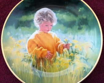 A Time For Peace by Donald Zolan - March of Dimes 50th Anniversary Plate