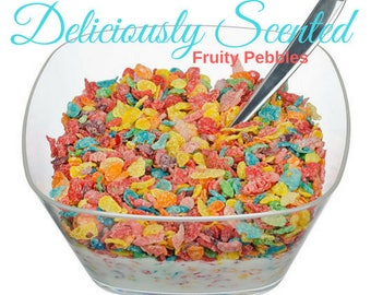 FRUITY PEBBLES Fragrance Oil 2 or 4 oz for candles, soap, perfume oil, cosmetics, soap making, best, pure, skin safe, supply, DIY supplies