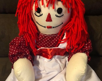 Haunted Doll Raggedy Ann Doll: Made By Witch