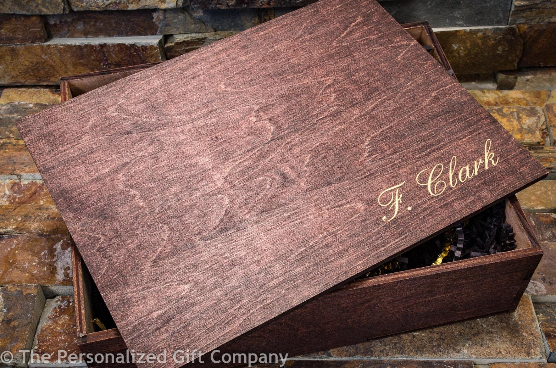 Groomsmen Gift Box Cigar Box Keepsake Box Wedding Favor