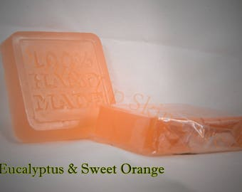 Eucalyptus and Sweet Orange Soap Bar