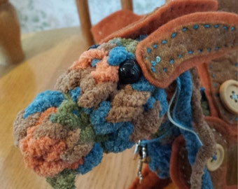 Paprika a House Dragon - plush, handmade, OOAK