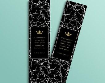 Faerie Crown bookmark (Cruel Prince inspired)